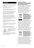Sony STR-DA2800ES - STR-DA2800ES Mode d'emploi Croate - Page 2