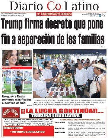 Edición 21 de junio de 2018