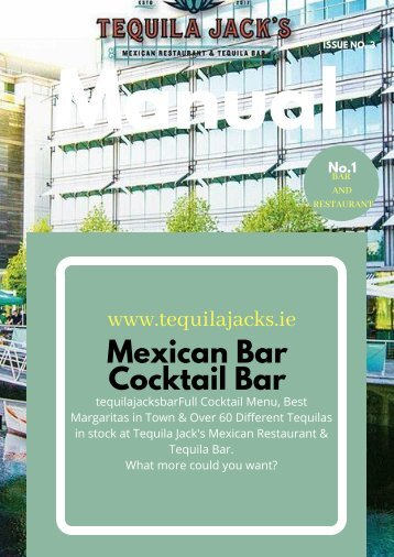 Mexican Bar and Cocktail Bar- IRELAND
