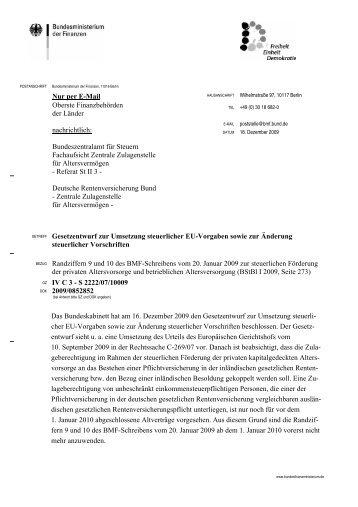 Gesetzentwurf zur Umsetzung steuerlicher EU-Vorgaben sowie zur ...