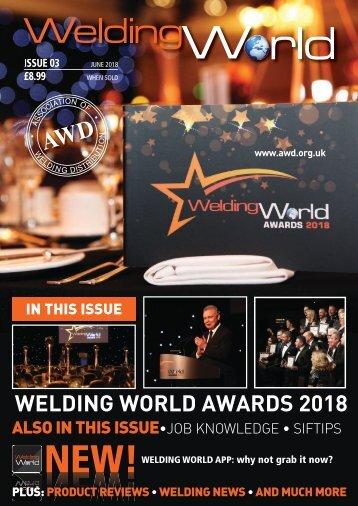 Welding World magazine June 2018