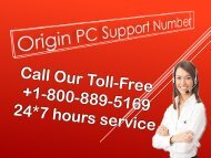 origin pc support number +1-800-311-6893 (Toll Free)