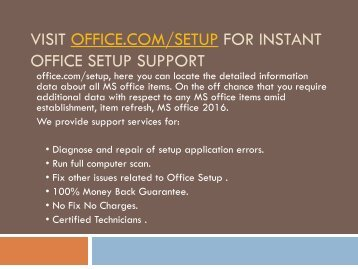 Office.com/Setup-Install and Activate Office