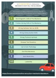 Top 10 Qualities of a Professional Mechanic in Box Hill, Blackburn and Canterbury.output