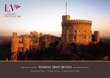 Touring Britain Luxury Vacations
