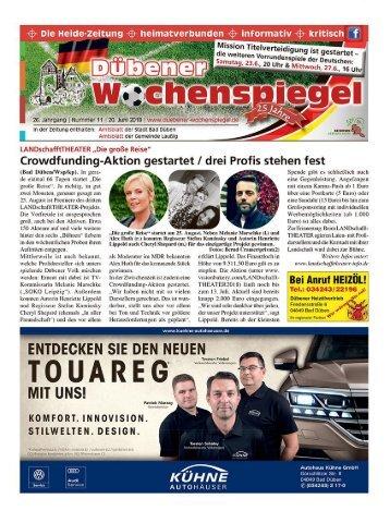 Dübener Wochenspiegel - Ausgabe 11 - Jahrgang 2018