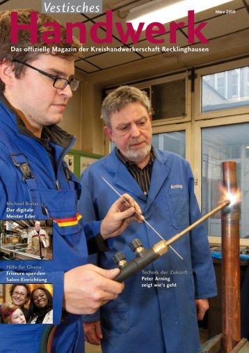 Vestisches - Das Magazin der Kreishandwerkerschaft Recklinghausen