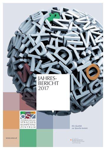 ÖSZ Jahresbericht 2017