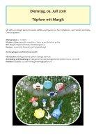 Ferienspiele Programm 2018 - Gesunde Gemeinde Spillern - Page 2