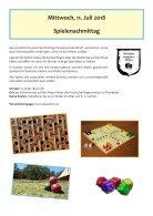 Ferienspiele Programm 2018 - Gesunde Gemeinde Spillern - Page 3