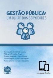 livro e-book Gestao Publica - Um olhar dos servidores - Baixa Resolucao