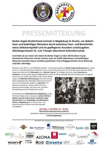 Pressemitteilung Barber Angels_Magdeburg Juli 2018