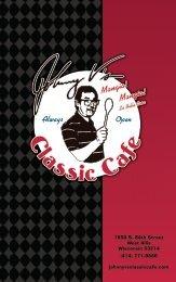 1650 S. 84th Street - Johnny V's Classic Cafe
