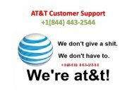 21-06 AT&T Technical Support  +1(844) 443-2544-PPT-