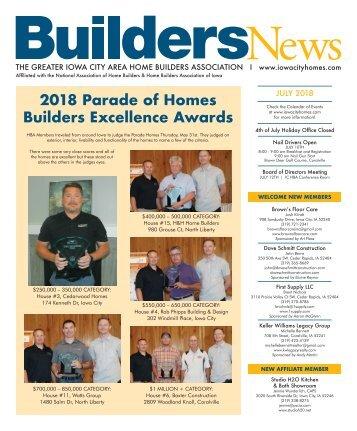 Builders News July 2018