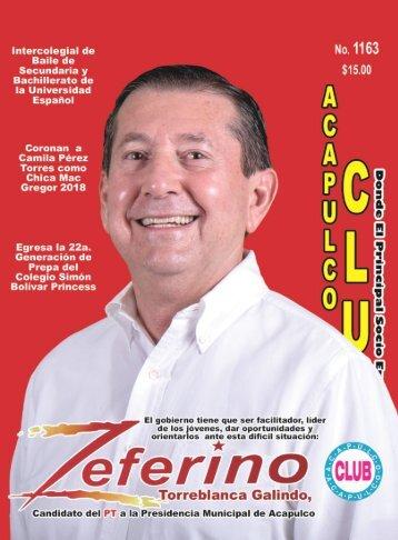 Revista Acapulco Club 1163