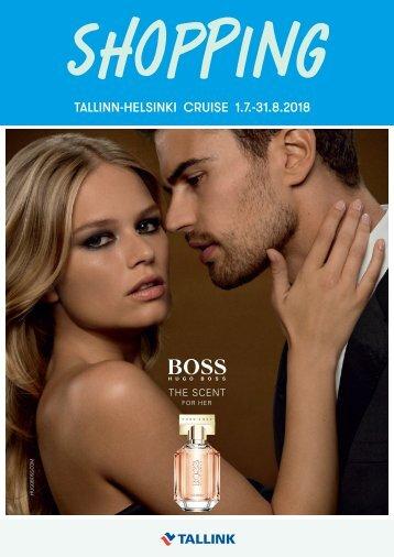 Tallinn-Helsinki Cruise July-August 2018 Tallink Midsummer Shopping catalogue – light