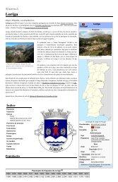 Loriga Wikipedia - Extratos da obra de António Conde, História concisa da vila de Loriga – Das origens á extinção do município, no artigo sobre Loriga que ele criou na Wikipédia
