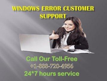 Windows Error Customer Support +1-888-720-4956