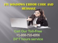 Fix Windows Error And Message +1-888-720-4956