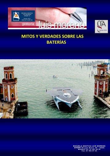 MITOS Y VERDADES SOBRE LAS BATERÍAS - Fondear.org