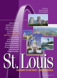 gateway to the west... and the world - St. Louis Regional Chamber ...