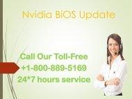 Nvidia Bioe update +1-8003-116-890