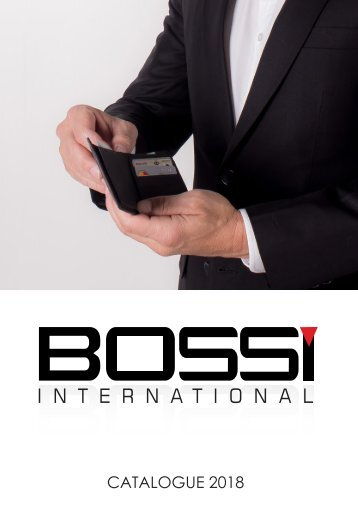 Bossi International Leather Wallets Catalogue 2018
