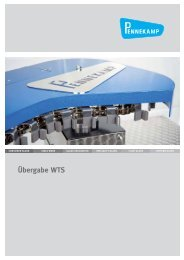 Übergabe WTS - Home - Ernst Pennekamp GmbH & Co. OHG