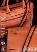 Bossi International Mens Leather Bags Catalogue 2018 - Page 2
