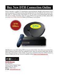 Buy New DTH Connection Online