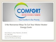 Heating services in Indianapolis   HVAC   Comfort heating, cooling and Plumbing