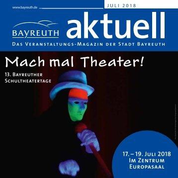 Bayreuth aktuell Juli 2018