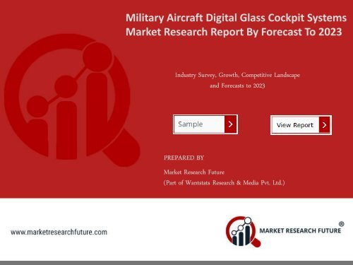 Military Aircraft Digital Glass Cockpit Systems Market Research Report