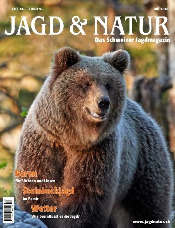 Jagd & Natur Ausgabe Juli 2018 | Vorschau