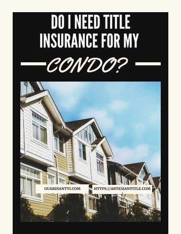 Do I need Title Insurance for my