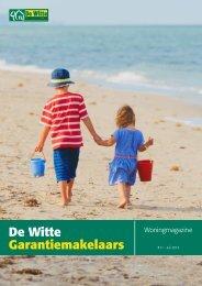 De Witte Garantiemakelaars Woningmagazine, juli 2018