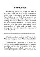 Fundamental Beliefs of Seventh-day Adventists - Page 2