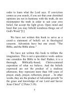 Fundamental Beliefs of Seventh-day Adventists - Page 5
