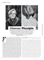 AirFrance Mag - Simone Pheulpin - Juin 2018