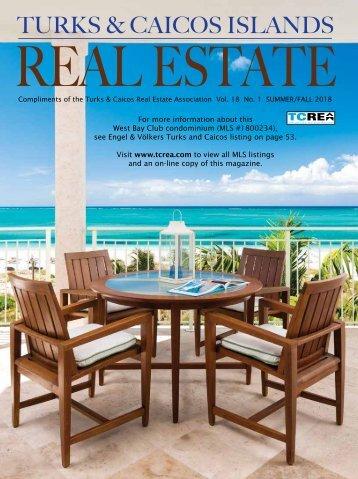 Turks & Caicos Islands Real Estate Summer/Fall 2018