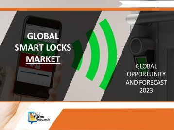 Smart Locks Market Expected to Reach $1,175 Million Globally by 2023