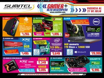 Suplemento Gamer Julio 2018