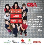 CSA Brochure 2018-2019