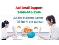 Aol Email Support 22-06-PPT