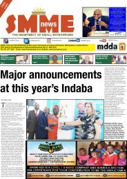 SMME NEWS - MAY 2018 ISSUE