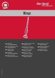 Dirt Devil Dirt Devil Cordless Sweeper - M777 - Manual (Multilingue)