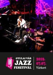 Gyulai Vár Jazz Fesztival brossúra
