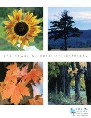 The Power of Rural Philanthropy - Forum of Regional Associations ...