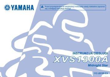 Yamaha XVS1300A - 2013 - Manuale d'Istruzioni Polski